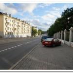Вид на дом с 2-комнатной квартирой на сутки на ул. Первомайская, 20 в Минске