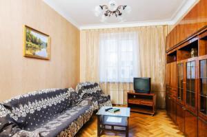 Зал в трехкомнатной квартире VIP на пр-те Независимости, 19. Снять квартиру от 75$