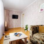 Зал в двухкомнатной квартире посуточно на бульваре Мулявина, 3 в Минске - arenda-nedorogo.by