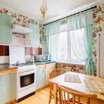 Кухня в двухкомнатной квартире на бульваре Мулявина, 3 в Минске - arenda-nedorogo.by